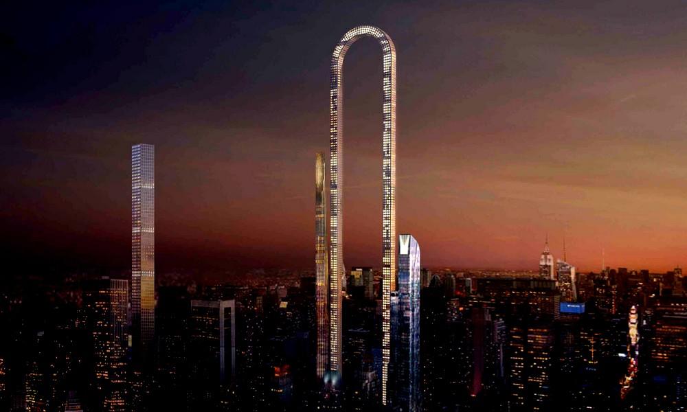 Le gratte-ciel le plus long du monde sera en forme de… U !