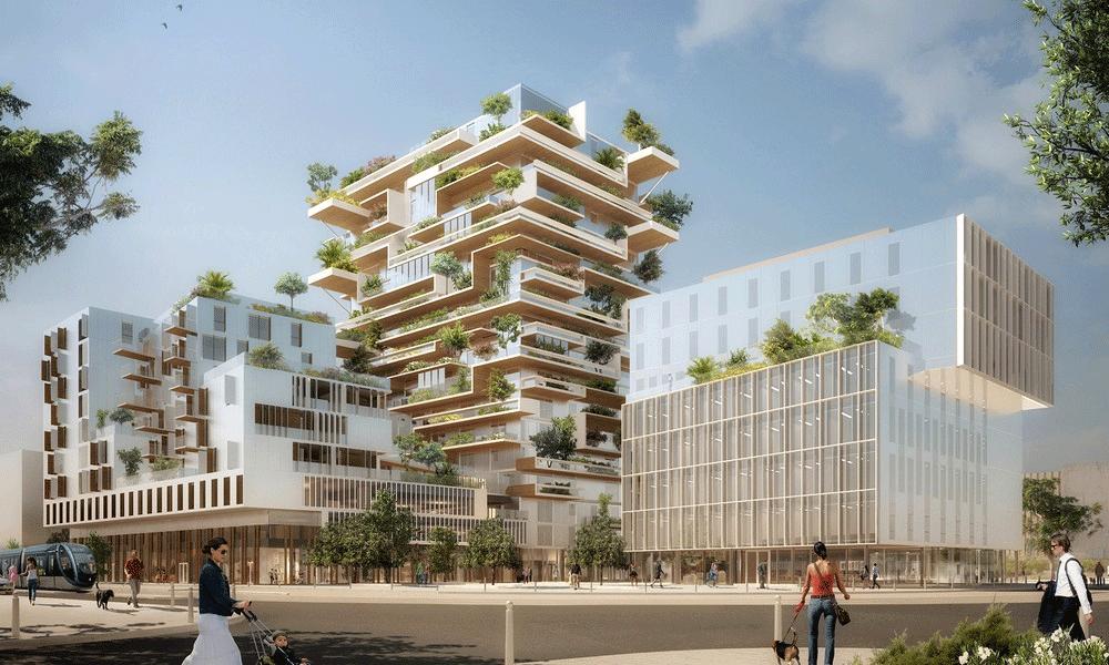 5 immeubles en bois qui poussent en ce moment en France