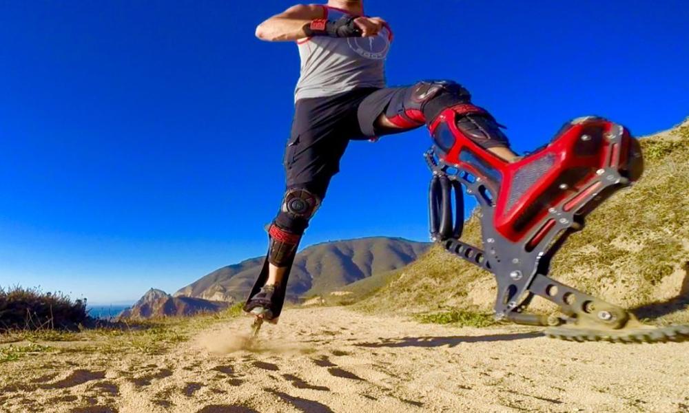 Des bottes bioniques pour courir aussi vite qu'une autruche