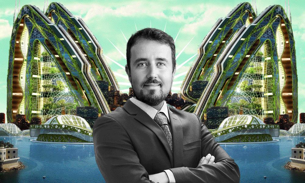 Vincent Callebaut, l'architecte qui invente les bio-villes du futur