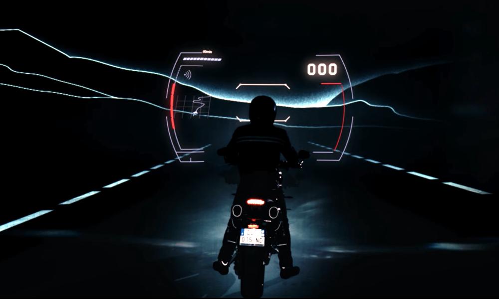 Les motards ont un GPS... en réalité augmentée !