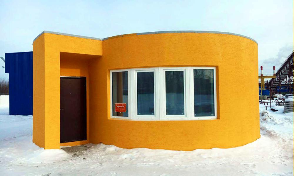Ils ont construit une maison en 24h grâce à une imprimante 3D
