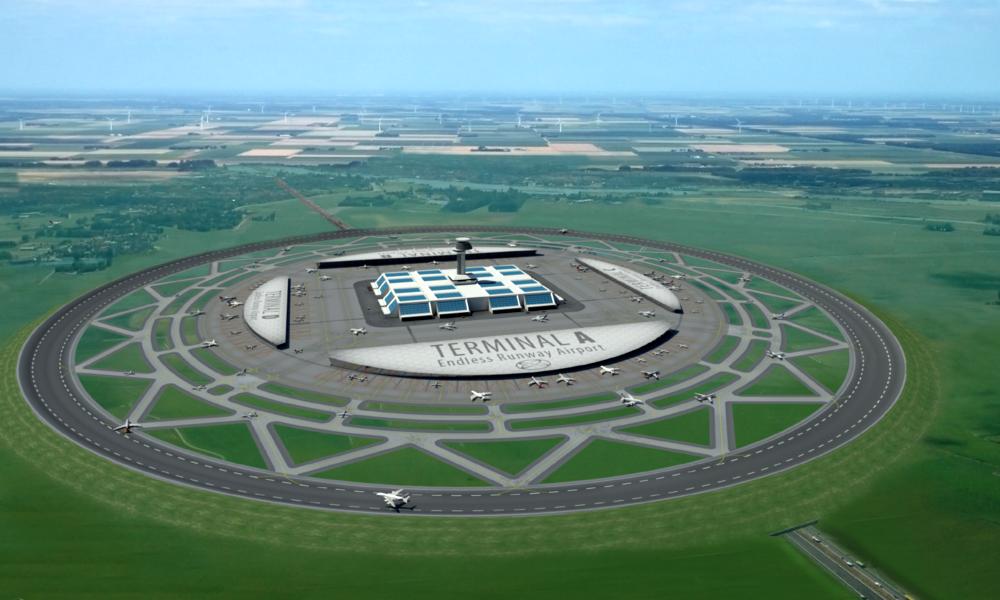Et si les aéroports du futur étaient ronds ?