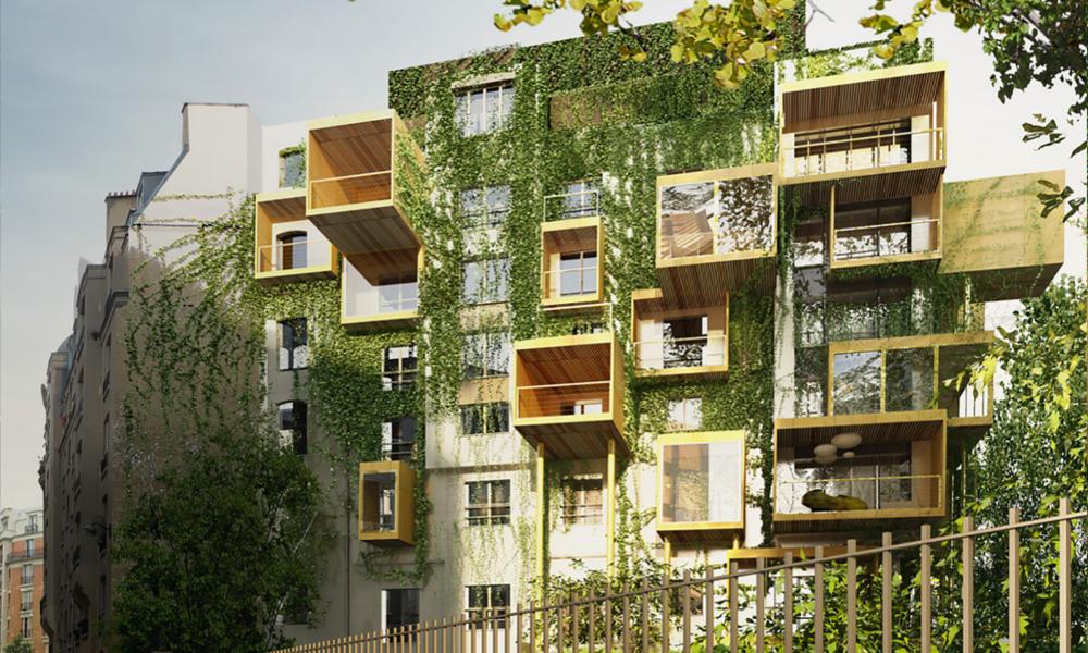 Un architecte recycle de vieux immeubles en bâtiments design et écolos