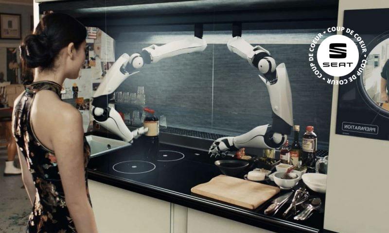 Qui prépare le dîner ce soir ? C'est le robot !