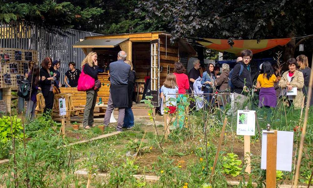 Fêtez le retour du beau temps dans un jardin partagé !