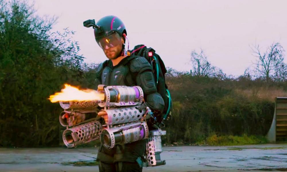 Avec cette combinaison, vous pouvez voler comme Iron Man