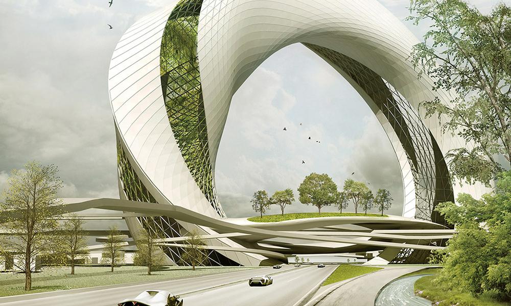 Des autoroutes plus vertes grâce à ce jardin vertical