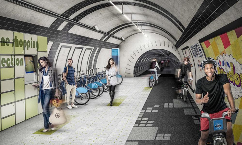 Métros abandonnés ? Londres les transforme en souterrains pour piétons et cyclistes