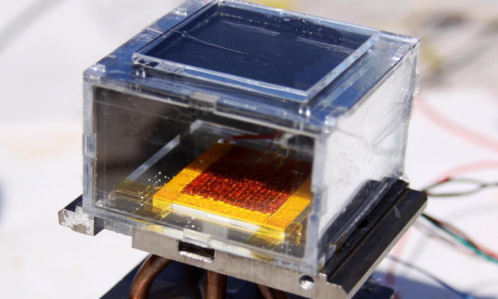 Ce cube transforme l'air le plus aride en eau potable