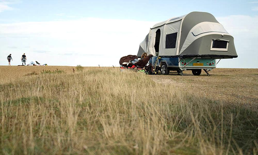 Un camping-car gonflable pour partir en week-end, ça vous dit ?