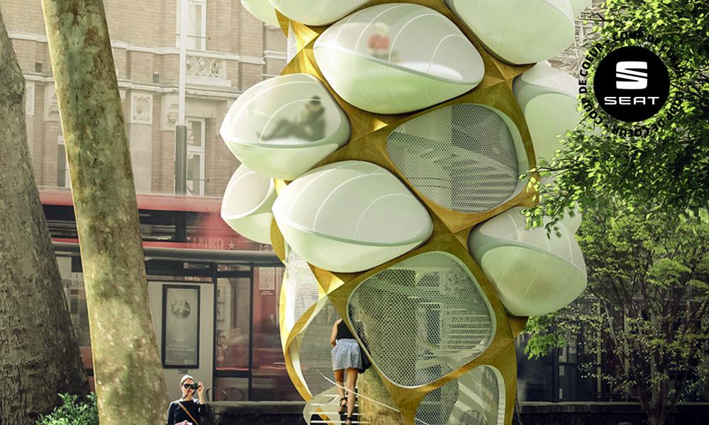 Des arbres-cocons pour faire la sieste en ville