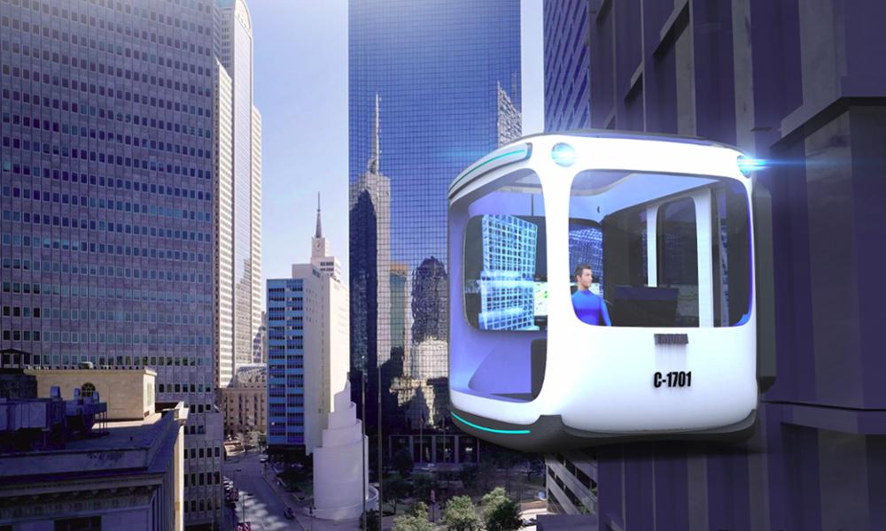 Un ingénieur canadien a imaginé l'ascenseur du futur : magnétique… et habitable !
