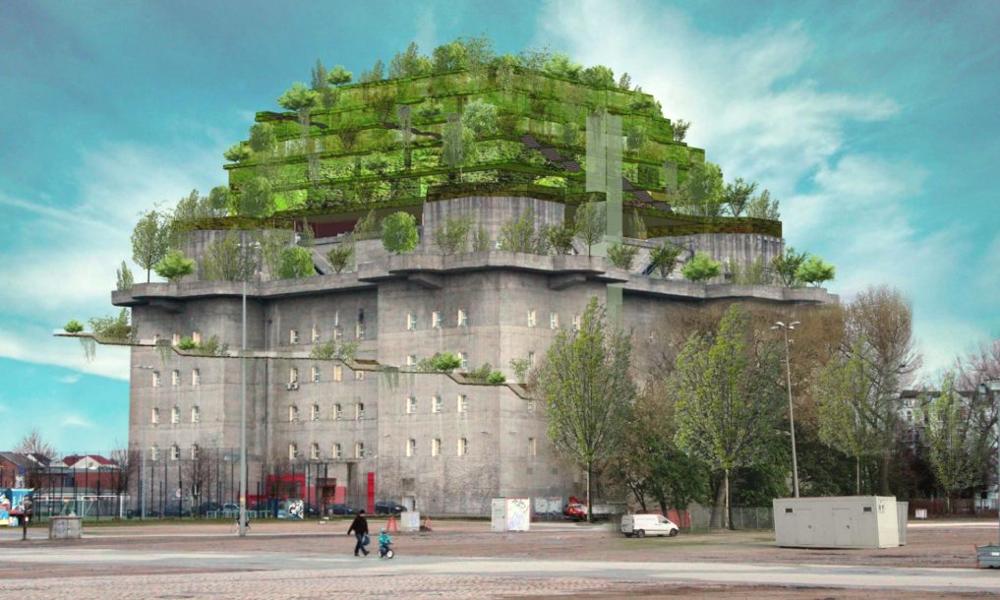 Des riverains allemands transforment un bunker en éco-parc