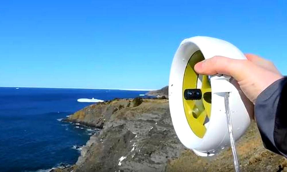 Une éoliennede poche à emporter partout