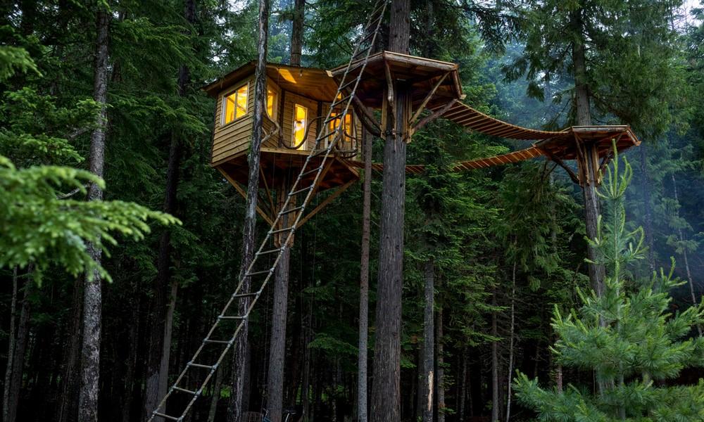 5 cabanes incroyables pour changer d'air