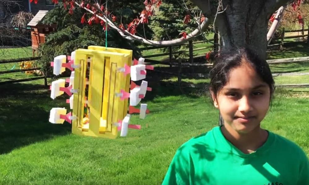 Une indienne de 13 ans invente un système d'énergie renouvelable pour 5 dollars