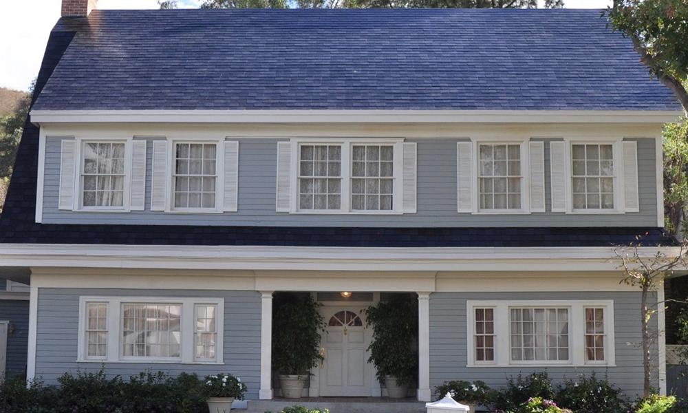 Une tuile solaire pour alimenter la maison
