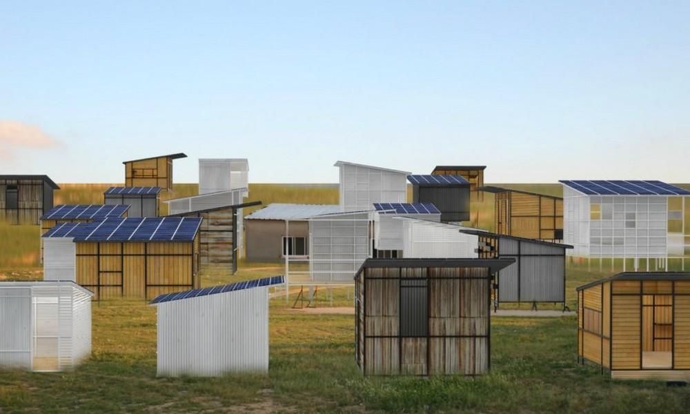 Un logiciel fabrique des maisons durables pour les réfugiés