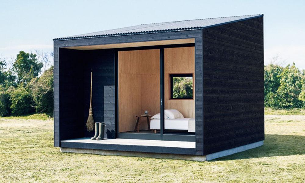 Des mini maisons Muji à 25 000 €