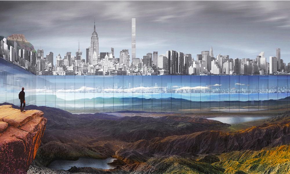New York Horizon murs