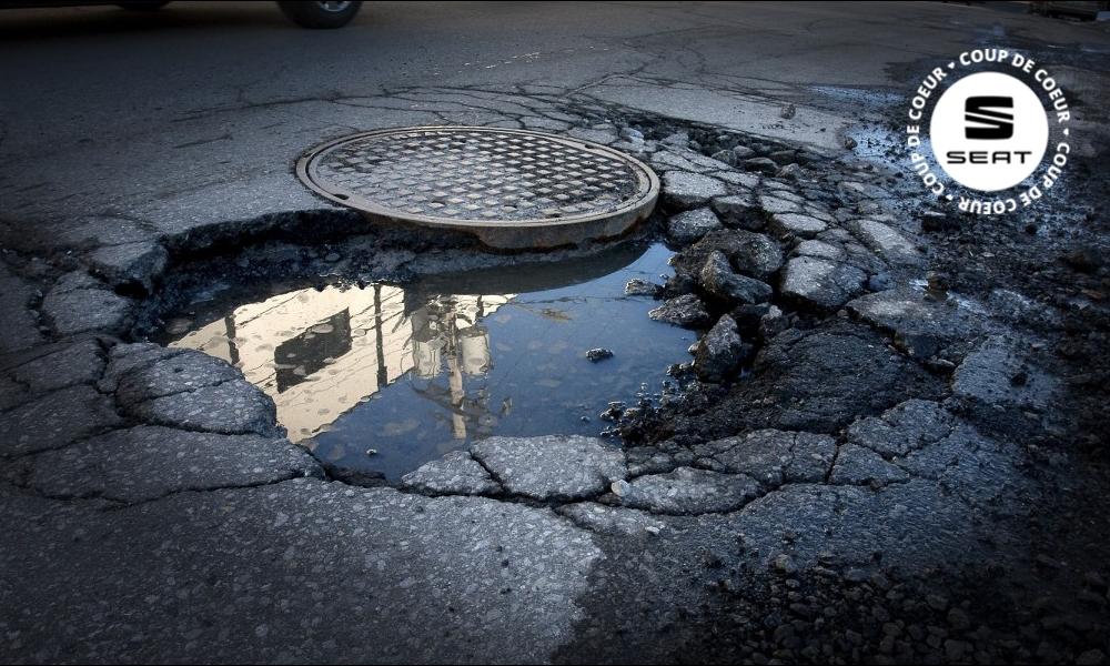 Des routes qui s'auto-réparent, y'a pas de lézard(es) !