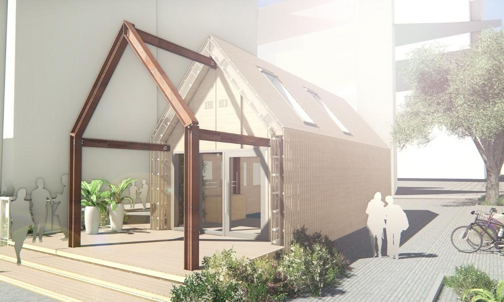 100% recyclé et recyclable, ce bâtiment révolutionne la construction