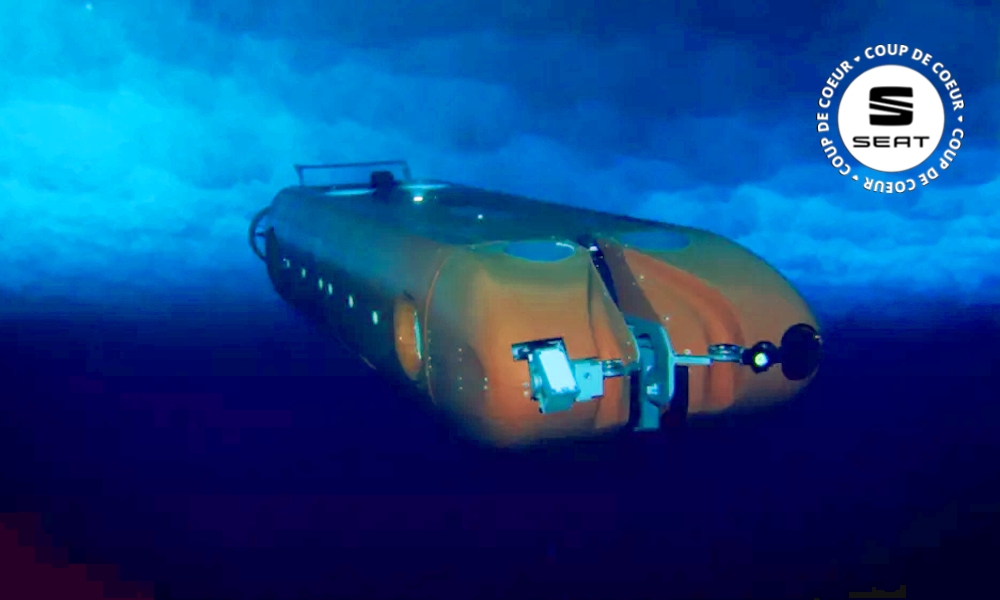 Un sous-marin cherche des extraterrestres... en Antarctique