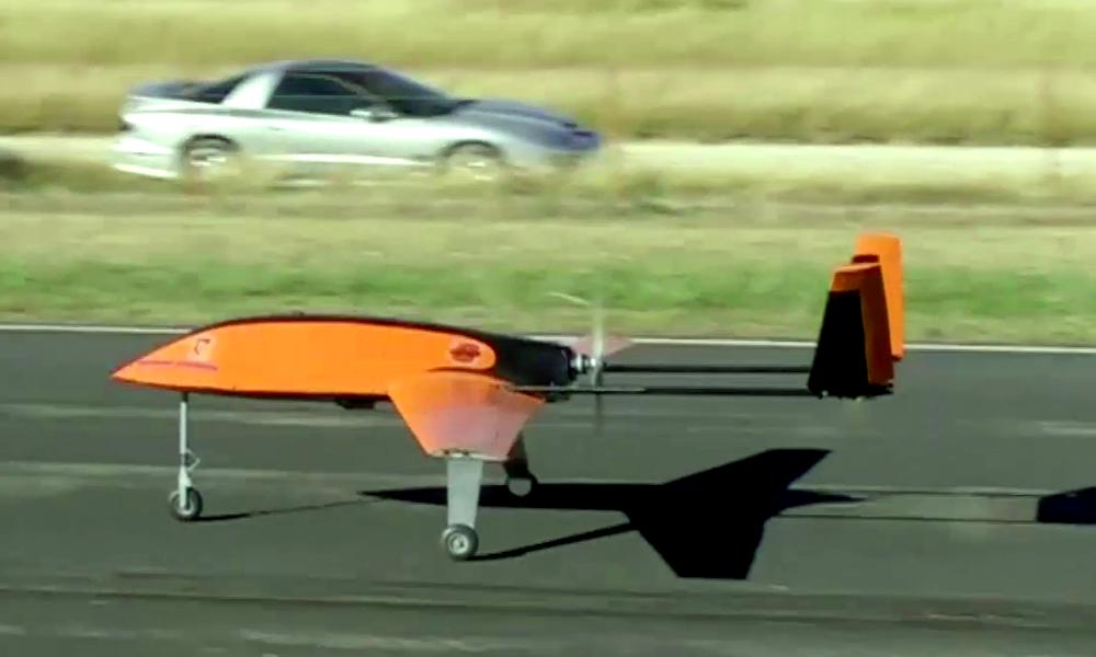 Tornade Drone decollage