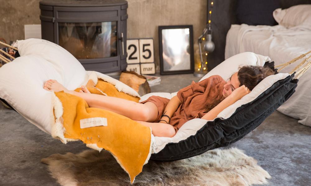 Le hamac d'intérieur : arme de relaxation massive