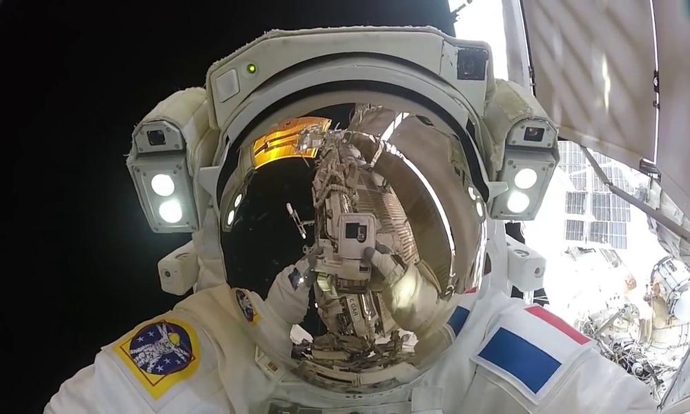 Astronaute casque