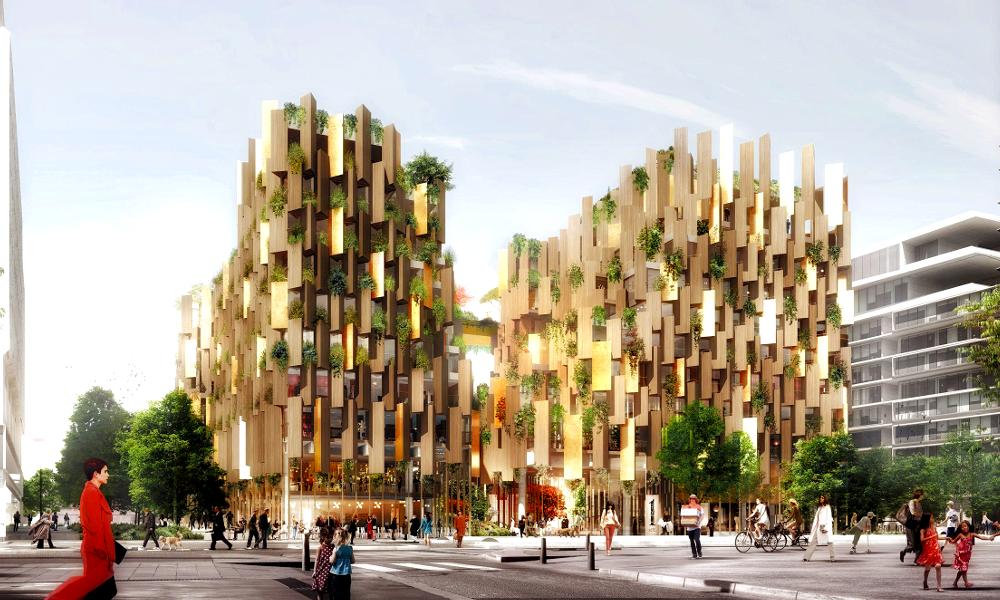 Avec cet éco-hôtel végétal, Paris se met enfin au vert !