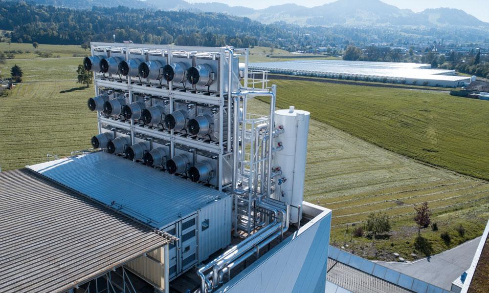 En Suisse, une usine capture le CO2 pour le transformer en engrais