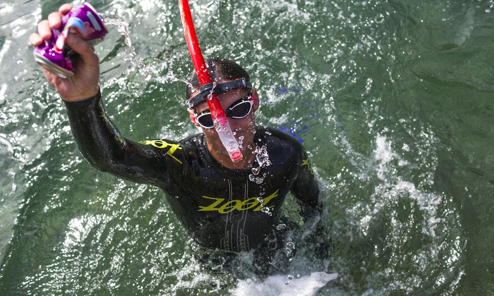 Ce Français a nagé 120 km pour nettoyer la Méditerranée