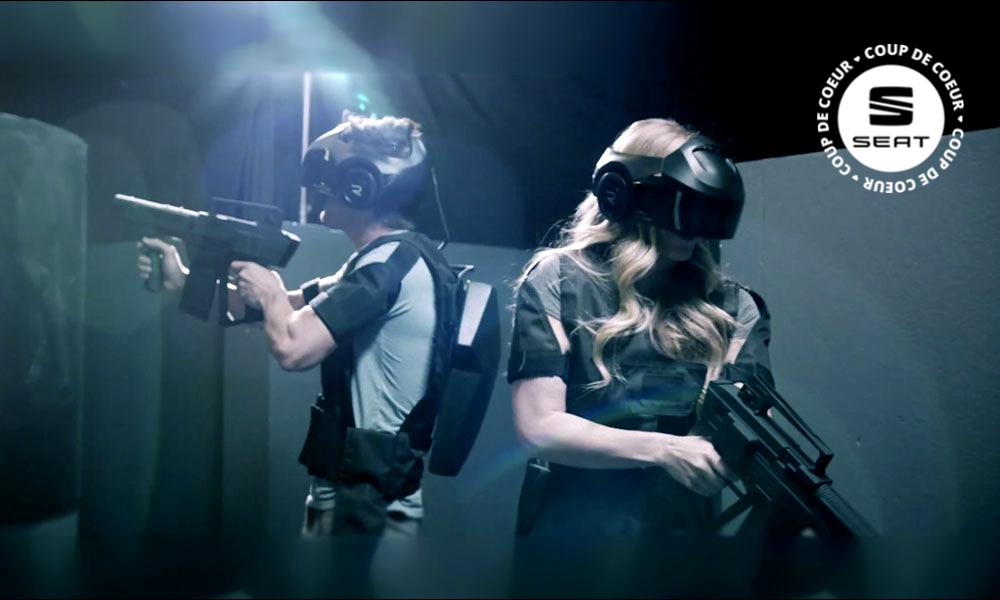 Tous à vos casques,le parc d'attraction en réalité virtuelle arrive