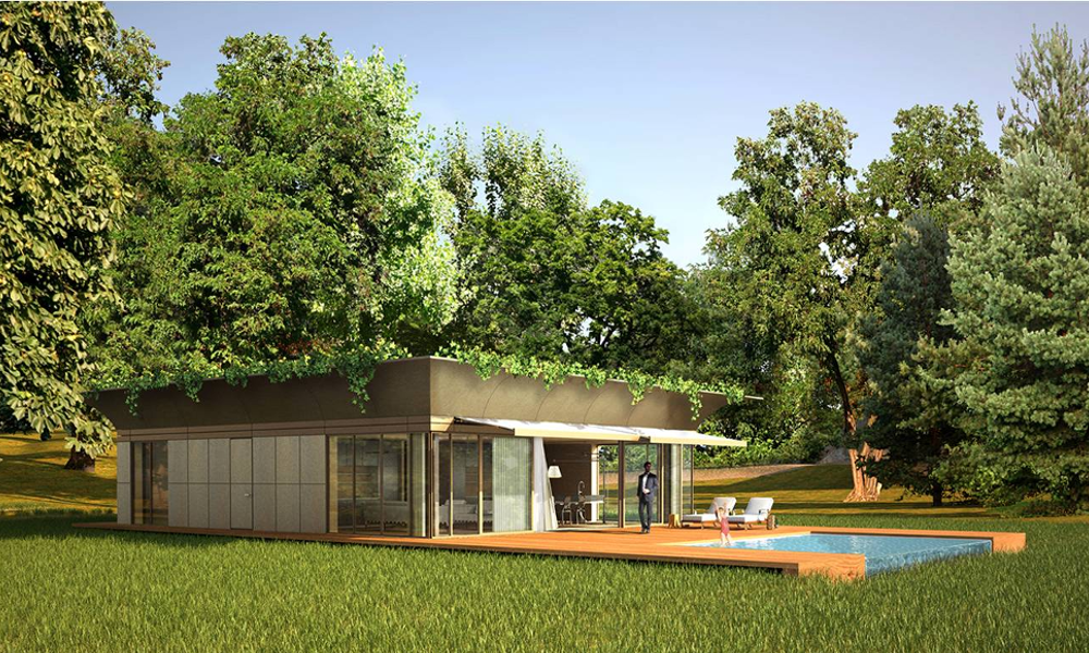 C'est pas trop tôt : Philippe Starck invente une maison écologique grand public