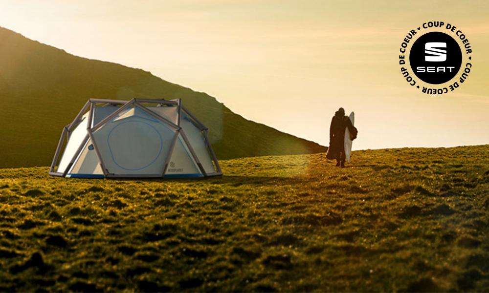 5 tentes incroyables pour camper dans des endroits dingues