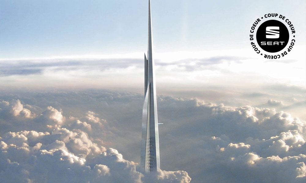 Cette tour géante construit des appartements mobiles grâce à l'impression 3D