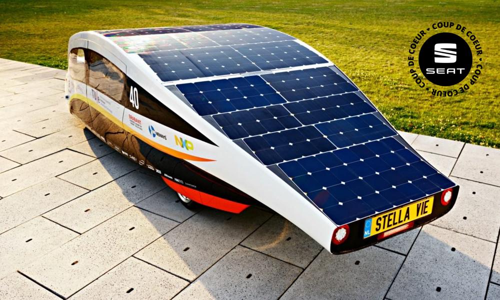 1000km d'autonomie avec cette voiture solaire du futur