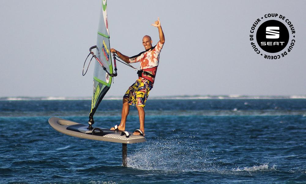 Volez sur l'eau grâce à cet aileron de l'extrême