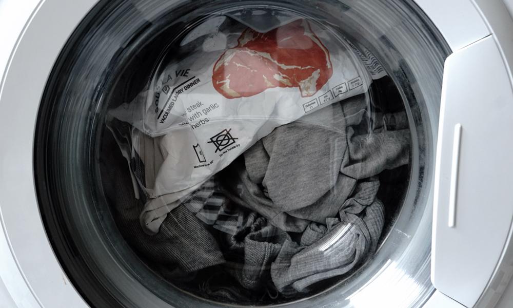 Faites cuire vos repas dans la machine à laver