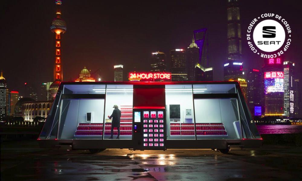 Pas de commerce à proximité ? Cette épicerie automatique vient à vous !