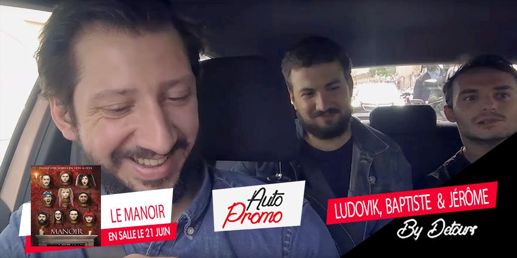 Autopromo #2 : deux minutes avec Jerome Niel, Ludovik et Baptiste Lorber