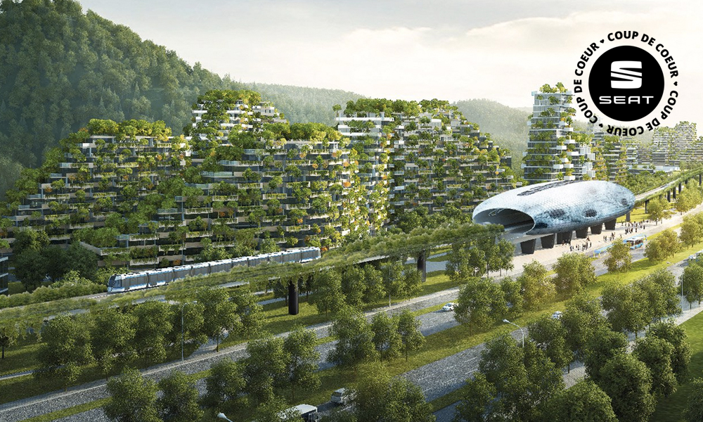 Voici la première ville-forêt au monde et devinez où c'est ?