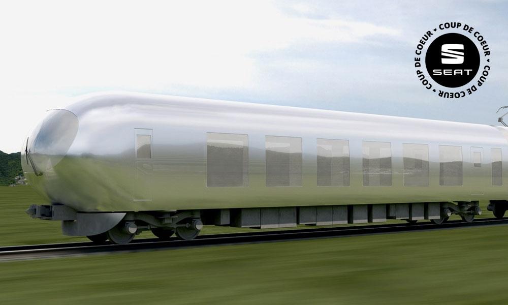 Voyagez incognito à bord de ce train invisible