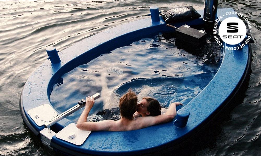 Tendance de l'été : louez un bateau-jacuzzi !
