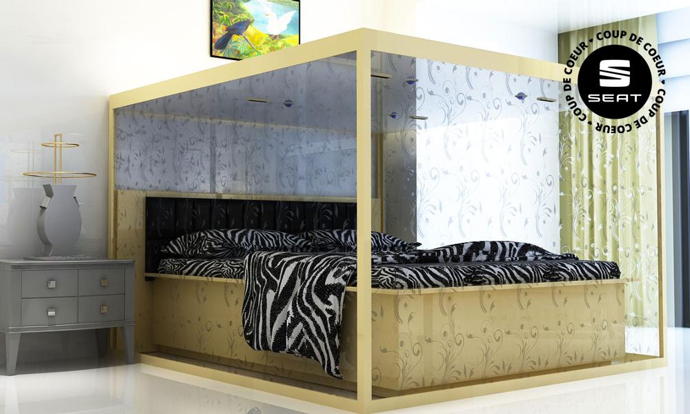 Dormez au frais dans ce lit éco-responsable et climatisé