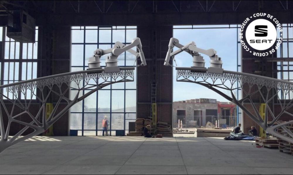 Le premier pont entièrement imprimé en 3D va soulager les ouvriers