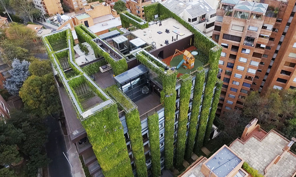 Plus qu'une tour, Bogota a construit un poumon vert