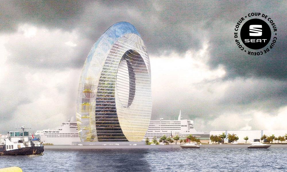 Ce moulin à vent autonome est votre futur appartement